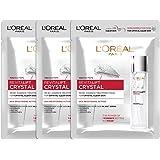 Loreal Paris Revitalift Crystal Micro-Essence Sheet Mask, 75g (pack of 3)