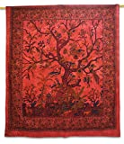 Handicrunch Cotton Tapestry Volledige Sheets Opknoping Hippie Tree Of Life Tapestry Indische 92