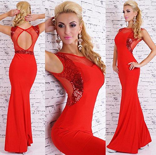 Fashion - Robe - Femme Rouge