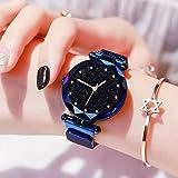 TIMESOON megnetic watch Analogue Women's Watch (Black Dial)