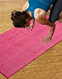 #10: Saral Home Premium Quality Cotton Handloom Made Yoga/Exercise Rugs -70x170 cm