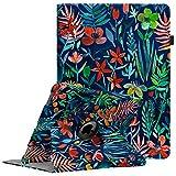 Fintie Hülle für iPad Pro 12.9-360 Grad Rotierend Stand Cover Case Schutzhülle Tasche mit Auto Schlaf/Wach Funktion für iPad Pro 12.9 2. Generation 2017/1. Generation 2015, Dschungelnacht