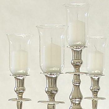 Amazonde Dekowelten 13 5cm Großer Glasaufsatz Klar Glas