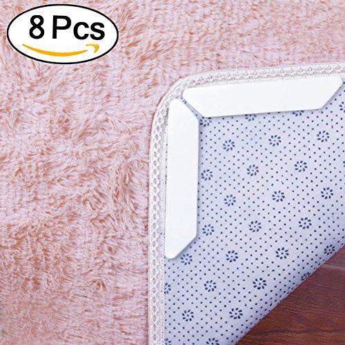 Teppich Greifer onbet 8Anti Curling und rutschfeste Teppich Greifer, Teppich Greifer. Flach Drücken Teppich Ecken, Stop Verrutschen–Ideale Alternative zu Teppich Pad, Teppich Tape und Teppich Klebeband für harte - Nachricht Matratze