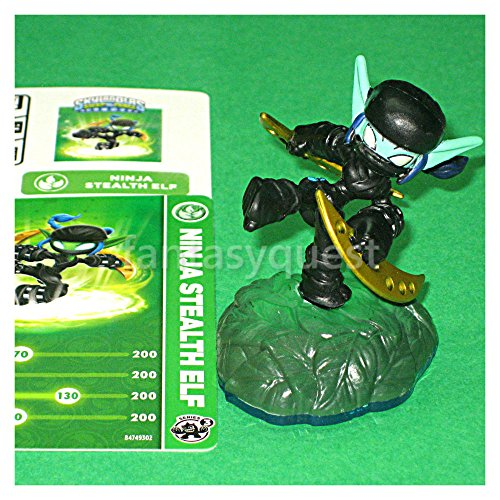 Skylanders SWAP FORCE LOOSE Figure NINJA Stealth Elf [From REGULAR Edition (Ninja Stealth)