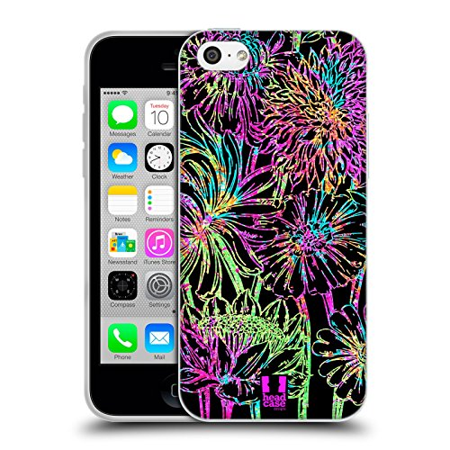 Head Case Designs Protea Stampe Floreali Cover Morbida In Gel Per Apple iPhone 7 Plus / 8 Plus Dalia