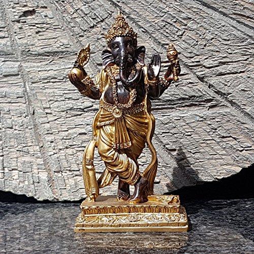 Ganesha Buddha Deko Figur Feng Shui Statue Hindu Bali Skulptur Budda