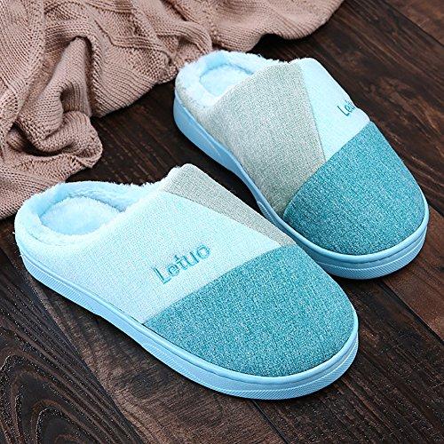 Del De De Casa Azul Estudio Zapatos Zapatillas Los Calientes Zapatillas De Dentro Punto Cielo De Sk Invierno Unisex Zapatillas dIqwaZ