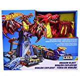 #8: Hot wheels Dragon Blast Playset, Multi Color