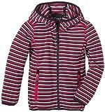 CMP Mädchen Jacket Fleece Jacke, Fiordaliso/Scarlet/Porto, 164, 3H57455