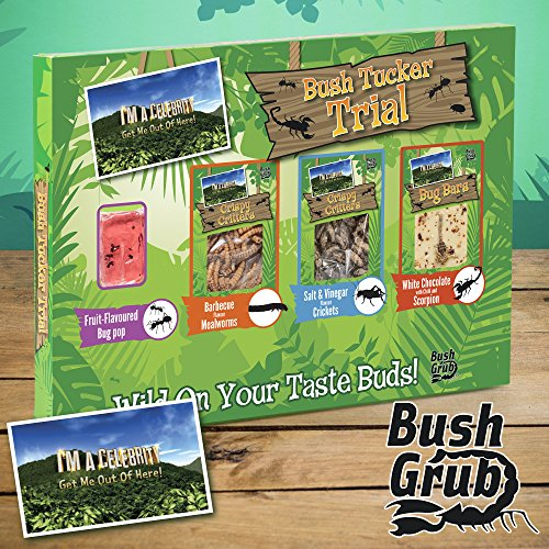 Ich bin ein Promi Hol mich raus Bush Tucker Trial Essbare Insekten Snack