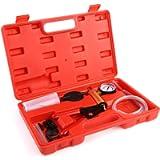 MVPOWER Pompa A Vuoto, Tester Manuale di Spurgo dei Freni, Pompa Manuale A Depressione per Spurgo Freni per Automobili…