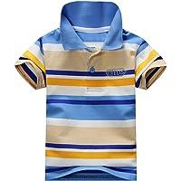 Ugitopi - Polo - Coton à Manches Courtes - Garçon 1-7 Ans