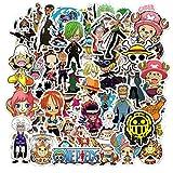 Templom SIX Anime Cartoon Bumper Patchs Stickers Autocollants De Voiture Moto Vélo Skateboard Bagages Téléphone Pad Autocollants(One Piece)