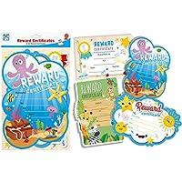 12 A4 Reward Certificates in assorted colourful designs