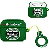 Shockproof Silicone Heineken Drink Cane Case Cover For Airpods Pro