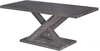 Jiwa Berani Kai Coffee Table, Dark Grey - 110H x 55W x 45D cm