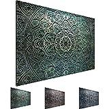 Cuadros de 120 x 80 cm - Cuadro de Mandala - Cuadro en lienzo no tejido - Imagen artística en lienzo para la pared - Impresión de arte – Imagen para la pared – Formato XXL –Más colores y tamaños en la tienda – ¡¡¡Totalmente estirados!!! ¡¡¡100 % FABRICADOS EN ALEMANIA!!! - Oriente – Abstracto - Universo 109431a