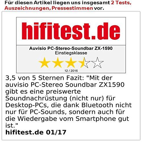 auvisio-PC-Stereo-Soundbar-mit-Bluetooth-und-AUX-USB-Stromversorgung-20-Watt