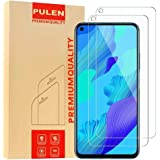 for Huawei Nova 5T Screen Protector (2 packs) HD Clear Scratch Resistant Bubble Free Anti-Fingerprints 9H Hardness Tempered G