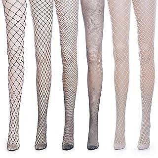 ZeWoo 6 Paar Damen Netzstrumpfhosen, Feinstrumpfhosen, Strumpfhosen Damen Mesh Strümpfe Frauen Netzstrumpfhose Fischnetz Netzstrümpfe Socken Strumpf