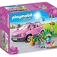 Playmobil Automóvil Familiar con Zona de Aparcamiento, Referencia 9404