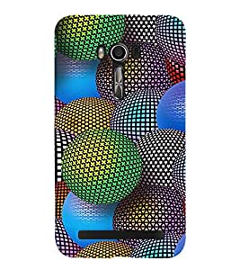 PRINTVISA Abstract Colourful Ball Case Cover for Asus Zenfone Go ZC500TG