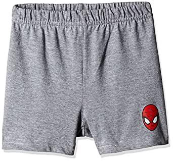 Marvel Spider-man Boys' Shorts (BD16-271AKBSRRG_MELANGE_4/5)