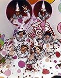 The Poster Corp Rowan & Martin Cast in Clown Costume Photo Print (20,32 x 25,40 cm)