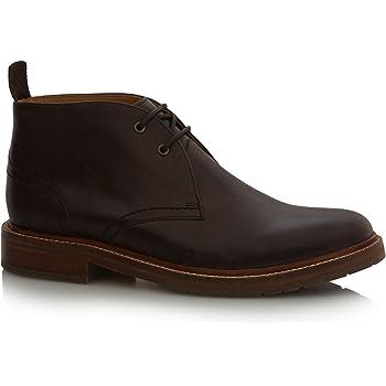 218e9452d7d J by Jasper Conran Men Brown Chukka Boots Size 10  Amazon.co.uk ...
