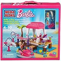 Mega Bloks Barbie Build N Play Tropical Resort