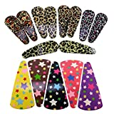 #4: Saamarth Impex Metal Clip Snap Hair Clips Tik tak Barrettes Good Quality For Kids,Girls,Women Set Of 15SI-6259