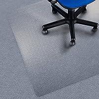 Tappeto salvapavimento Office Marshal® per moquette | Policarbonato | Trasparente | diverse misure, 100x120 cm