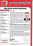 Aktien Monitor 1 2018 Alphabet Facebook Fresenius Nike Zeitschrift Magazin Einzelheft Heft Börsenbrief