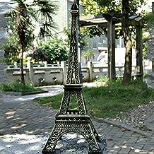 Ainstsk Paris Eiffel Tower - Figura de Torre Eiffel, diseño Retro, Color Bronce,