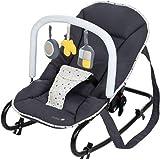 Safety 1st Koala Gandulita reclinable para bebé con funcion mecedora, Hamaca con arco de juego, ligera y compacta, color Warm