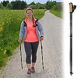 Superleichter Carbon Nordic-Walking-Stock 'Walker 5000 Premium Edition' nur 138 Gram/Stock, Länge:115 cm - 5