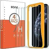 Amazon Brand - Eono Verre Trempé Compatible avec iPhone 11 Pro/X/XS, Film Protection Ecran avec Outil d'Installation Solide,