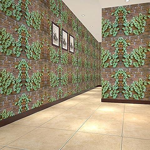 BIZHI Contemporary Wallpaper Art Deco 3D Fashion Stripe Wallpaper Wall Covering PVC Self Adhesive/Vinyl Fabric Wall Art,NHGUB36