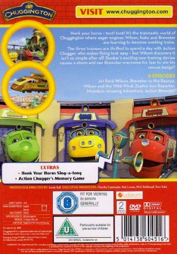 Image of Chuggington - Action Stations [DVD]