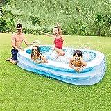 YAWJ Aufblasbares Schwimmbecken Indoor Wave Ball Pool Im Freien Rechteckige Spielzeug...
