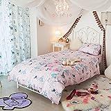Alicia de una sábana bajera y funda de almohada del edredón cubre (estilo Occidental) 3set
