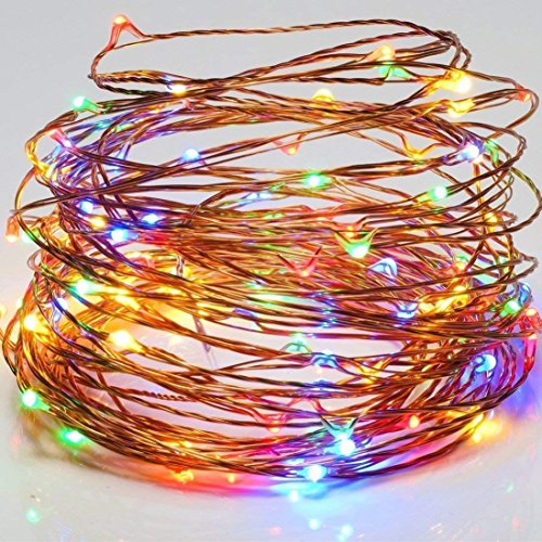 Tonver Solar String Lights Outdoor Waterproof Multicolor 200 LED Copper Wire Decorative Fairy Light Garden Decorations Home Decor Deal of The Day Prime Today Landscape Lamp for Patio Outside Party