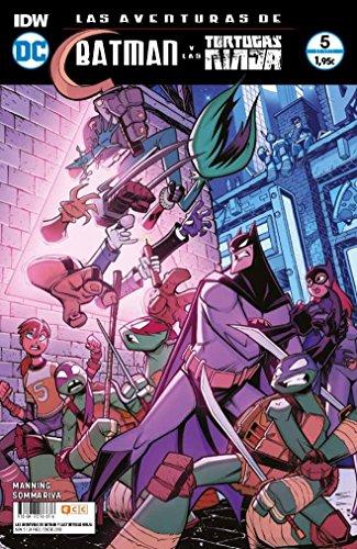 Las aventuras de Batman y las Tortugas Ninja (O.C.): Las aventuras de Batman y las Tortugas Ninja núm. 05 (de 6)
