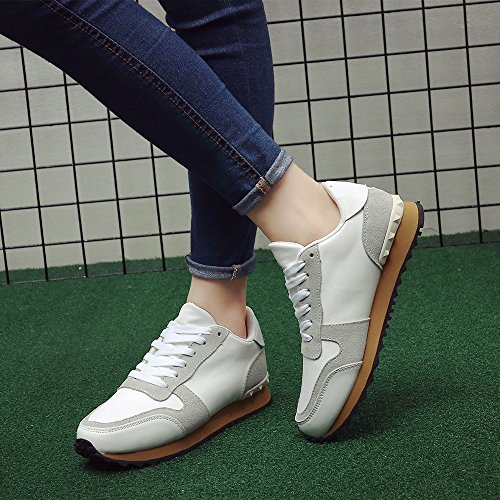 Cestfini Casual Damen Sneakers, Mode Sport Trainer laufschuh White