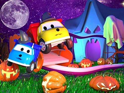 Halloween Etahn und Klein Ethan machen eine Fahrt mit der Geisterbahn/Ethan und Klein Ethan pflanzen Bäume!