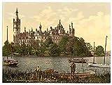 Photo The ducal castle I Schwerin Mecklenburg Schwerin A4