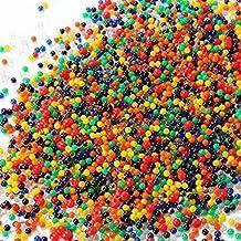 1000 granos de jalea perlas de gel de agua original de bala Piezas de agua de las bolas de 2,5 mm-3mm