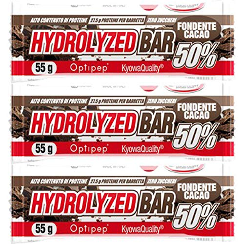 HYDROLIZED BAR 50% barrette proteiche zero zuccheri