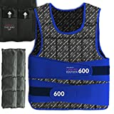 We R Sports Adjustable Weighted Weight Vest Loss Training Exercise Crossfit LIMITED EDITION (Black, 10KG)